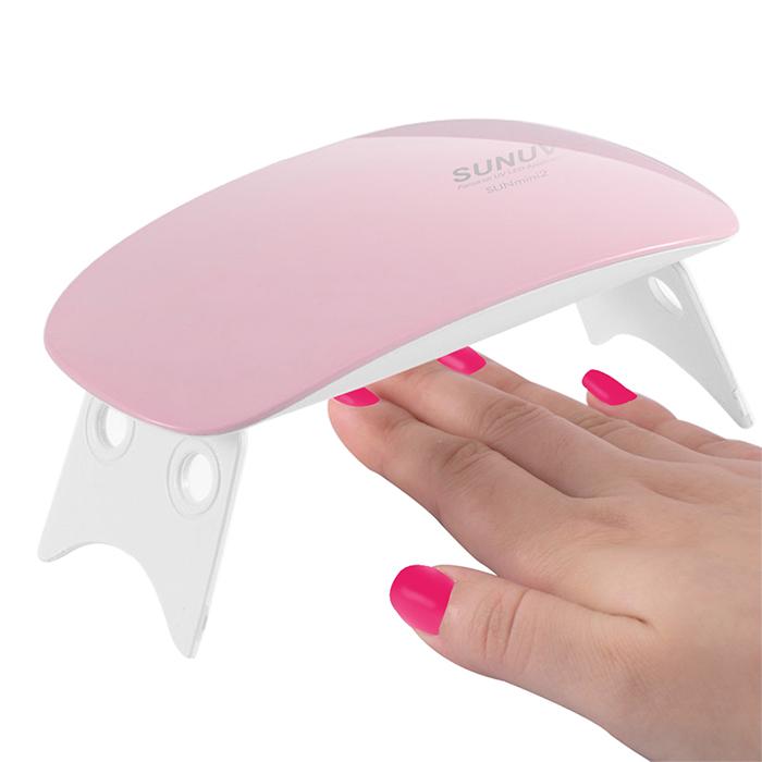 sunmini nail lamp portable nail lamp mini portable nail lamp portable led. Black Bedroom Furniture Sets. Home Design Ideas
