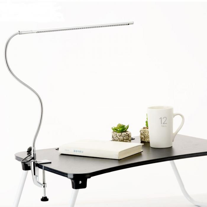 Fashionable 360 Degree adjustable LED Table Lamp led fold desk lamps with clamp