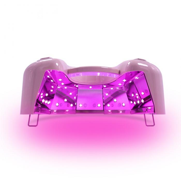 48W Wireless Nail lamp cordless recharging uv nail led lamp with red light